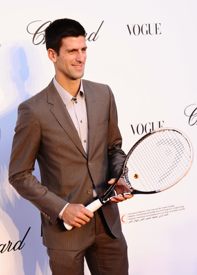 CANNES, FRANCE - MAY 16:  Novak Djokovic attends Fashion For Relief during the 64th Annual Cannes Film Festival on May 16, 2011 in Cannes, France.  (Photo by Ian Gavan/Getty Images)