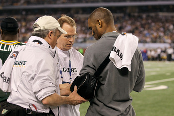 Injured Woodson watches the Packers in the Super Bowl