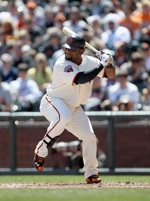 SAN FRANCISCO, CA - APRIL 24:  Pablo Sandoval #48 of the San Francisco Giants in action against the Atlanta Braves at AT&T Park on April 24, 2011 in San Francisco, California.  (Photo by Ezra Shaw/Getty Images)