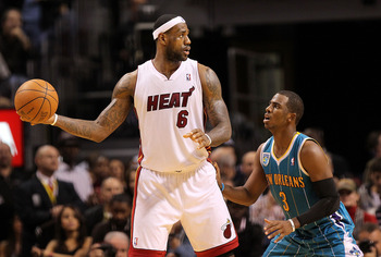LeBron James and Chris Paul