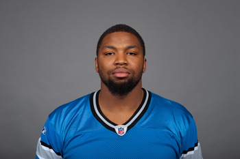 DETROIT, MI - CIRCA 2010:  In this photo provided by the NFL, Turk McBride of the Detroit Lions poses for his 2010 NFL headshot circa 2010 in Detroit, Michigan.  (Photo by NFL via Getty Images)