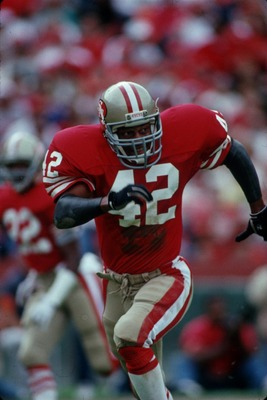Ronnie Lott Closes In For Another Big Hit