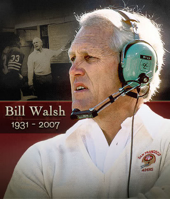 Bill Walsh led the 49ers to 3 Super Bowls