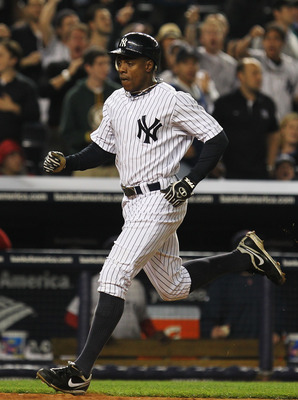 NEW YORK, NY - MAY 15:  Curtis Granderson #14 of the New York Yankees in action against the Boston Red Sox  during their game on May 15, 2011 at Yankee Stadium in the Bronx borough of New York City.  (Photo by Al Bello/Getty Images)
