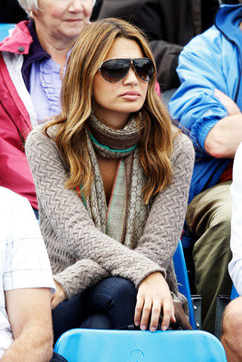 LONDON, ENGLAND - JUNE 08:  Stacey Gardner, the wife of tennis player Mardy Fish, attends the match men's first round match between Mardy Fish of USA  and Somdev Devvarman of India on Day 2 of the the AEGON Championships at Queen's Club on June 8, 2010 in