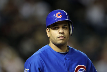PHOENIX, AZ - APRIL 30:  Aramis Ramirez #16 of the Chicago Cubs on deck during the Major League Baseball game against the Arizona Diamondbacks at Chase Field on April 30, 2011 in Phoenix, Arizona. The Cubs defeated the Diamondbacks 5-3.  (Photo by Christi