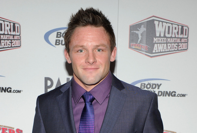 LAS VEGAS, NV - DECEMBER 01:  Mixed martial artist Joe Warren arrives at the third annual Fighters Only World Mixed Martial Arts Awards 2010 at the Palms Casino Resort December 1, 2010 in Las Vegas, Nevada.  (Photo by Ethan Miller/Getty Images)