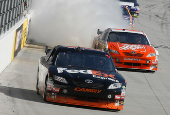 Engine woes have been an issue in 2011 for Joe Gibbs Racing