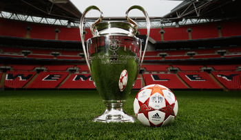 Will it be Manchester United or Barcelona holding the Champions League aloft at Wembley?