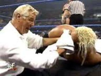 WWE Over the Limit Kiss My  Rikishi Stinkface Vince Mcmahon