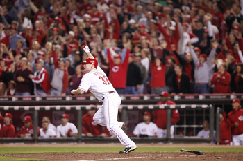 Jay Bruce hits the Division clinching Walkoff 9/28/2010