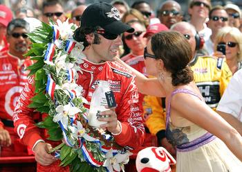 2010 Indianapolis 500 Winner Dario Franchitti