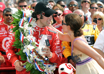 2010 Indianapolis 500 Winner Dario Franchitti