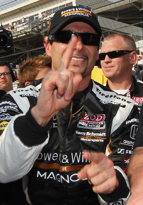 Alex Tagliani 2011 Indy 500 pole winner