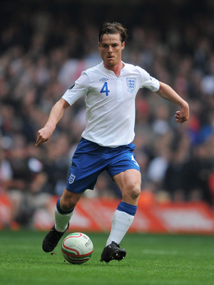CARDIFF, WALES - MARCH 26:  Scott Parker of England in action during the UEFA EURO 2012 Group G qualifying match between Wales and England at the Millennium Stadium on March 26, 2011 in Cardiff, Wales.  (Photo by Michael Regan/Getty Images)