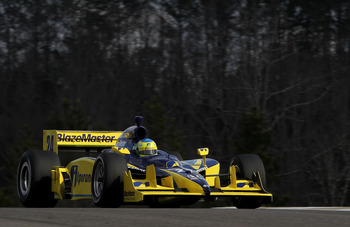 BIRMINGHAM, AL - MARCH 14:  Ana Beatriz of Brazil, drives the #24 Dreyer & Reinbold Racing Dallara Honda during IZOD IndyCar Series Spring Training at Barber Motorsports Park on March 14, 2011 in Birmingham, Alabama.  (Photo by Nick Laham/Getty Images)