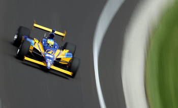INDIANAPOLIS - MAY 28:  Ana Beatriz of Brazil drives the #23 Ipiranga/DRR Dreyer & Reinbold Racing during practice for the IZOD IndyCar Series 94th running of the Indianapolis 500 at the Indianapolis Motor Speedway on May 28, 2010 in Indianapolis, Indiana