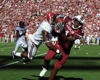 South Carolina WR Alshon Jeffrey might be the best player in the SEC with Cam Newton's departure.