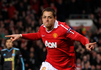 Javier Hernandez faces the biggest test of his Man United career thus far