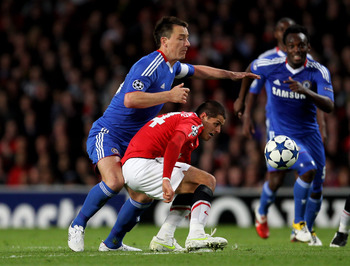 John Terry: All Over The Opposition Striker