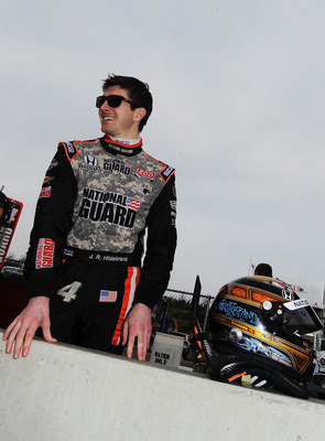 BIRMINGHAM, AL - MARCH 14:  JR Hildebrand, driver of the #4 National Guard Panther Racing Dallara Honda in the pits during IZOD IndyCar Series Spring Training at Barber Motorsports Park on March 14, 2011 in Birmingham, Alabama.  (Photo by Nick Laham/Getty