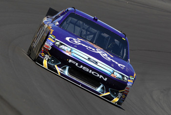 CHARLOTTE, NC - MAY 20:  Matt Kenseth drives the #17 Crown Royal Ford during practice for the NASCAR Sprint All-Star Race at Charlotte Motor Speedway on May 20, 2011 in Charlotte, North Carolina.  (Photo by Streeter Lecka/Getty Images)