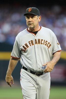 Giants' Manager Bruce Bochy