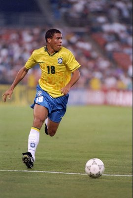 8 Jun 1994:  Ronaldo of Brazil in action during a game against Honduras at Jack Murphy Stadium in San Diego, California.  Brazil won the game 8-2. Mandatory Credit: Al Bello  /Allsport