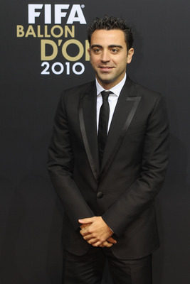 ZURICH, SWITZERLAND - JANUARY 10: Xavi of Spain arrives at the FIFA Ballon d'or Gala at the Zurich Kongresshaus on January 10, 2011 in Zurich, Switzerland.  (Photo by Michael Steele/ Getty Images)