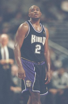 26 Oct 1996:  Guard Mitch Richmond of the Sacramento Kings stands on the court during a game against the Chicago Bulls at the United Center in Chicago, Ilinois.  The Bulls won the game 97-91. Mandatory Credit: Jonathan Daniel  /Allsport