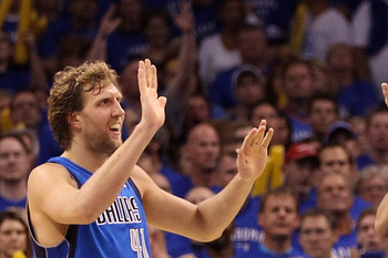 The Mavs rallied from a 15 point deficit late in the fourth quarter to win Game 4.