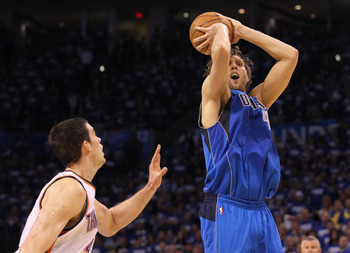Dirk Nowitzki had his second 40 point game of the series.