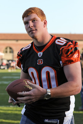 LOS ANGELES, CA - MAY 20:  Andy Dalton attends the NFL PLAYERS Premiere League Flag Football Game at UCLA on May 20, 2011 in Los Angeles, California.  (Photo by Noel Vasquez/Getty Images)