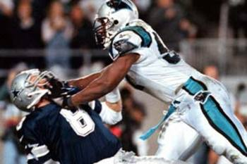 #8 Troy Aikman in 1996 Divisional Playoffs against Carolina