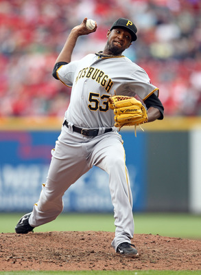 CINCINNATI, OH - MAY 19:  James McDonald #53 of the Pittsburgh Pirates throws a pitch during the game against the Cincinnati Reds at Great American Ball Park on May 19, 2011 in Cincinnati, Ohio.  (Photo by Andy Lyons/Getty Images)