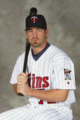 FT. MYERS, FL - MARCH 1:  Outfielder B.J. Garbe #72 of the Minnesota Twins poses for portrait during Twins Photo Day at the Twins Spring Training Complex on March 1, 2004 in Fort Myers, Florida.  (Photo by Ezra Shaw/Getty Images)