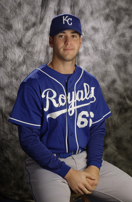 27 Feb 2002:   A portrait of lhp Mike Stodolka #66 during the Kansas City Royals media day at Baseball City Stadium in Davenport, Florida.DIGITAL IMAGE Photographer:  M. David Leeds/Getty Images