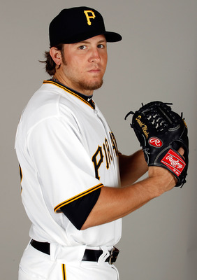 BRADENTON, FL - FEBRUARY 20:  Pitcher Daniel Moskos #57 of the Pittsburgh Pirates poses for a photo during photo day at Pirate City on February 20, 2011 in Bradenton, Florida.  (Photo by J. Meric/Getty Images)
