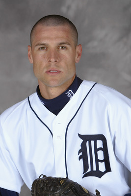 LAKELAND, FL - FEBRUARY 29:  Matt Anderson #14 of the Detriot Tigers poses for portrait on February 29, 2004 at the Tigers spring training complex in Lakeland, Florida.  (Photo by Ezra Shaw/Getty Images)