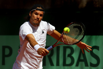Tommy Haas at the 2011 French Open