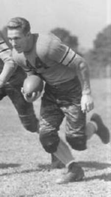 1940 Pittsburgh rookie George Kiick