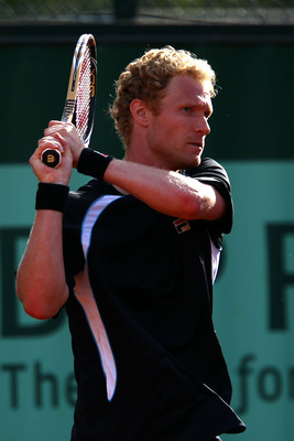 Dmitry Tursunov at the 2011 French Open.