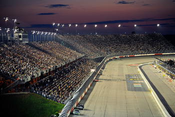 DARLINGTON, SC - MAY 07:  A general view during the NASCAR Sprint Cup Series SHOWTIME Southern 500 at Darlington Raceway on May 7, 2011 in Darlington, South Carolina.  (Photo by John Harrelson/Getty Images for NASCAR)
