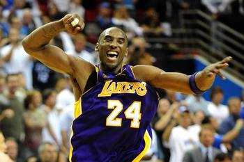 It may be a while before we see Kobe celebrating like this in June again