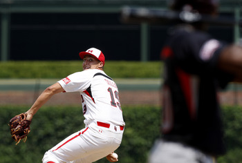 CHICAGO - AUGUST 8: Team One pitcher Jameson Tailon fires to the plate against the Baseball Factory  during the  Under Armour All-American Baseball game on August 8, 2009 at Wrigley Field in Chicago, Illinois.  (Photo by Jim Prisching/Getty Images)
