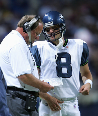 Hasselbeck certainly had Holmgren's plays in hand every step of the way in 2005.