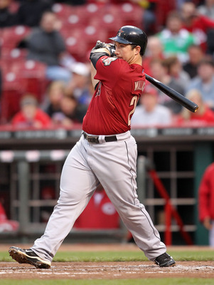CINCINNATI, OH - MAY 03:  Brett Wallace #29 of the Houston Astros hits a double that drives in two runs during the game against the Cincinnati Reds at Great American Ball Park on May 3, 2011 in Cincinnati, Ohio.  (Photo by Andy Lyons/Getty Images)