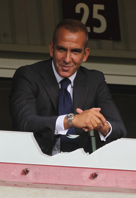 LONDON, ENGLAND - SEPTEMBER 11:  Ex-West Ham United player Paolo Di Canio looks on prior to the Barclays Premier League match between West Ham United and Chelsea at the Boleyn Ground on September 11, 2010 in London, England.  (Photo by Hamish Blair/Getty