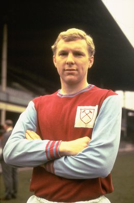 1967:  Portrait of Bobby Moore of West Ham at Upton Park, London. \ Mandatory Credit: Dave  Cannon/Allsport