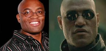 Silva is definitely as lethal as Morpheus